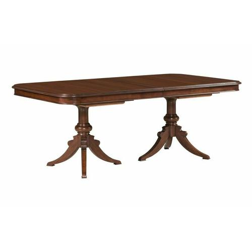 Gallery - Double Pedestal Dining Table - Complete