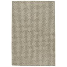 Arcade-Cycle Beige Hand Loomed Area Rugs