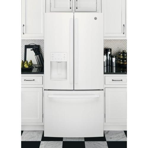GE® ENERGY STAR® 23.6 Cu. Ft. French-Door Refrigerator