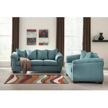 Darcy Sofa & Loveseat Sky