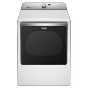 Maytag8.8 cu. ft. Extra-Large Capacity Gas Dryer with Advanced Moisture Sensing White
