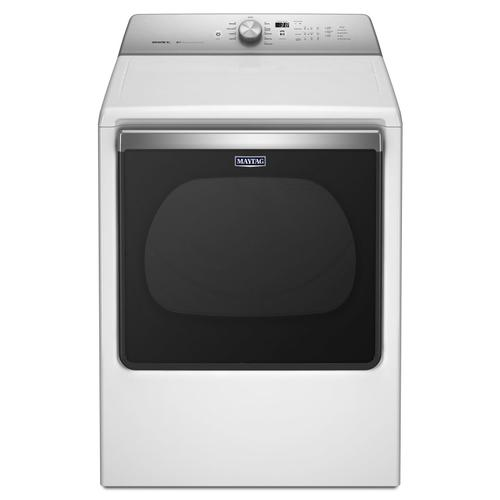 8.8 cu. ft. Extra-Large Capacity Gas Dryer with Advanced Moisture Sensing White