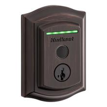 See Details - Halo Touch Traditional Fingerprint Wi-Fi Enabled Smart Lock - Venetian Bronze