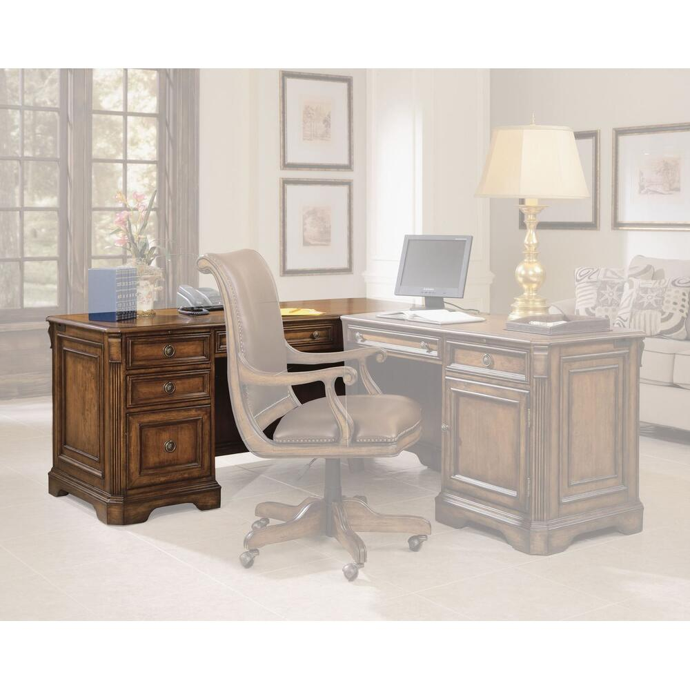 Home Office Brookhaven Left Pedestal Desk