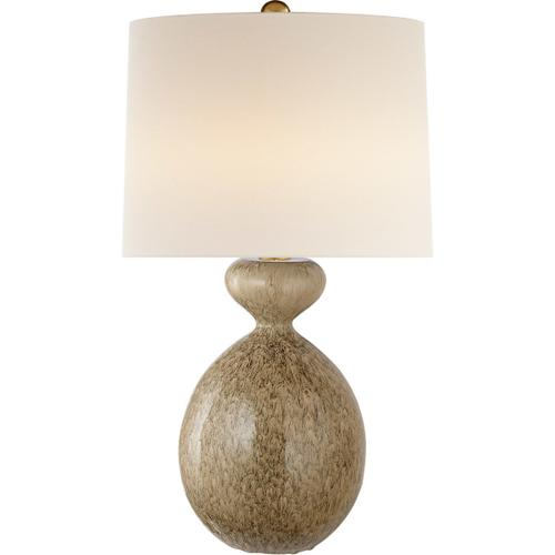 AERIN Gannet 29 inch 150 watt Marbleized Sienna Table Lamp Portable Light