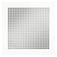 View Product - Broan® Metal Grille Kit for 100/150/200/ 250/ 300 CFM Ceiling Mount Models, White