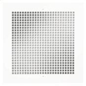 Broan® Metal Grille Kit for 100/150/200/ 250/ 300 CFM Ceiling Mount Models, White