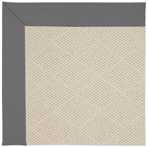 Creative Concepts-White Wicker Canvas Charcoal Machine Tufted Rugs