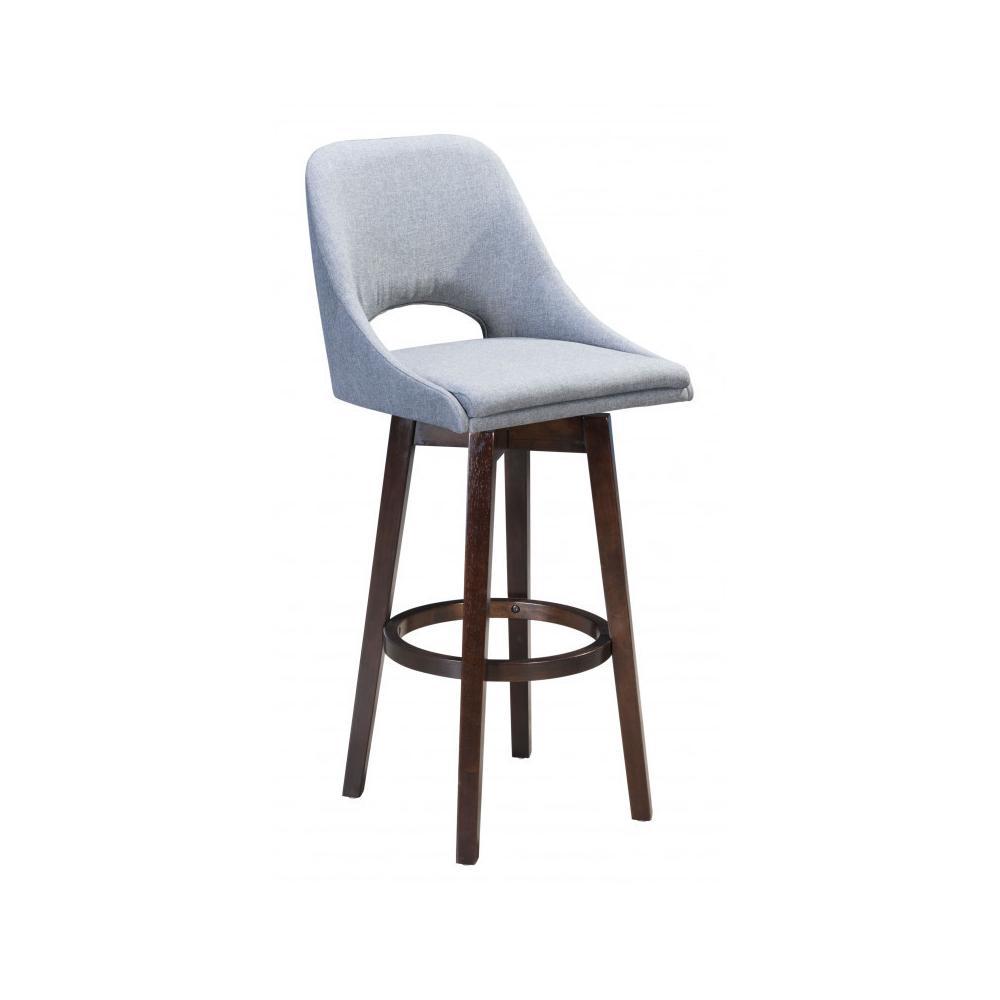 Ashmore Bar Chair Gray