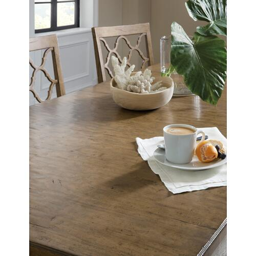 Hooker Furniture - Montebello 82in Rectangle Dining Table w/ 1-20in leaf