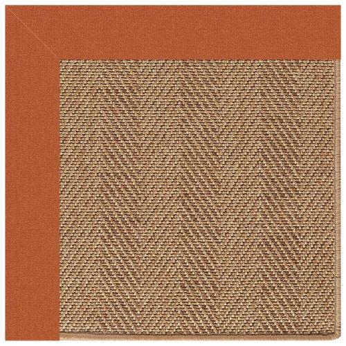"Capel Rugs - Islamorada-Herringbone Canvas Rust - Rectangle - 24"" x 36"""