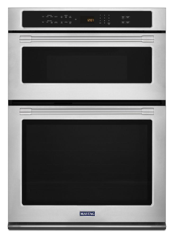 Maytag30-Inch Wide Combination Wall Oven With True Convection - 6.4 Cu. Ft.