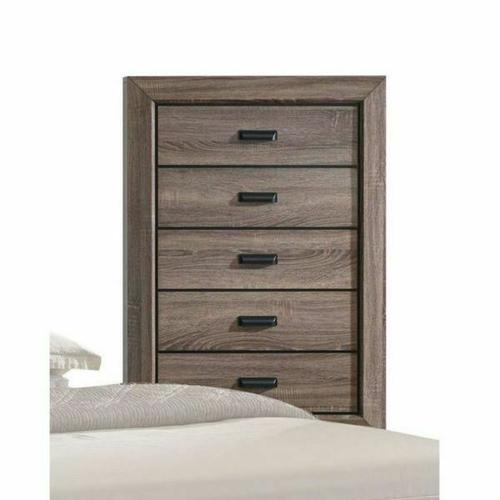ACME Lyndon Chest - 26026 - Weathered Gray Grain