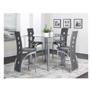 "Valencia 42"" Charcoal 5pc Pub Set Product Image"