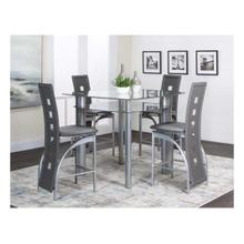"Valencia 42"" Charcoal 5pc Pub Set"