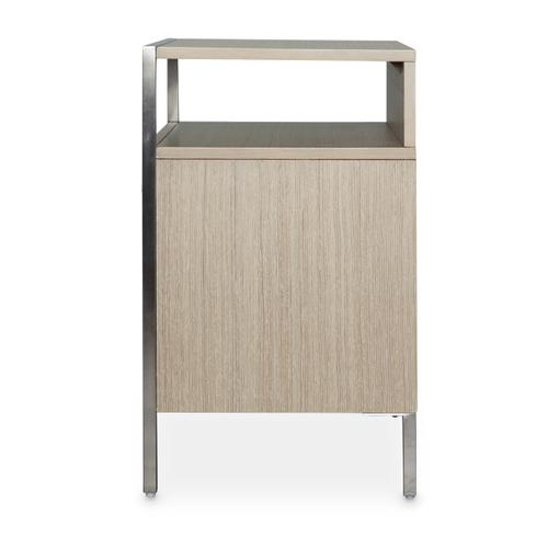 Amini - Accent Cabinet-night Stand-end Table 2 Drawer