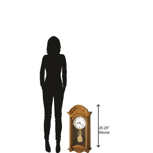 Howard Miller Amanda Chiming Wall Clock 625282