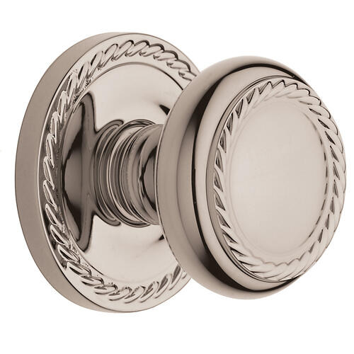 Baldwin - Polished Nickel with Lifetime Finish 5064 Estate Knob