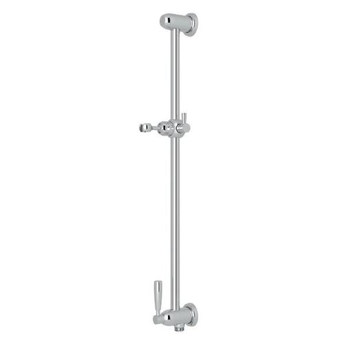 Holborn Slide Bar with Integrated Volume Control and Outlet - Polished Chrome