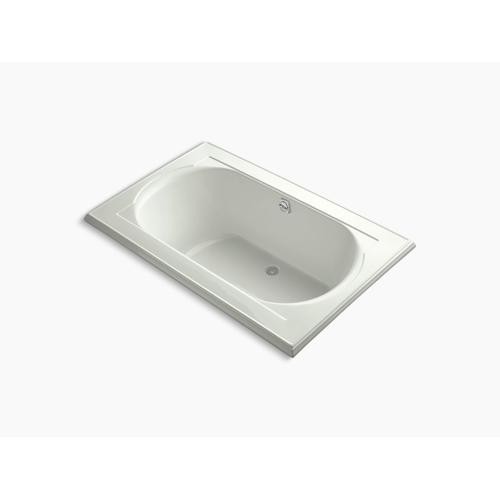 """Dune 66"""" X 42"""" Drop-in Bath With Bask Heated Surface and Reversible Drain"""