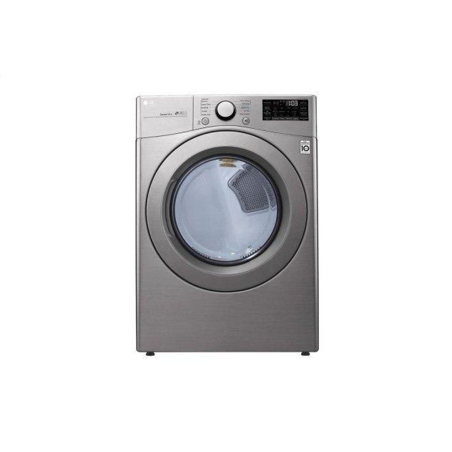 LG Appliances 7.4 cu. ft. Smart wi-fi Enabled Electric Dryer with Sensor Dry Technology