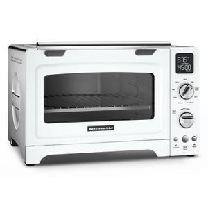 "KitchenAid12"" Convection Digital Countertop Oven White"