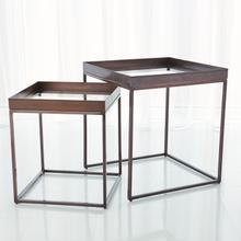 See Details - S/2 Perfect Nesting Tables-Bronze