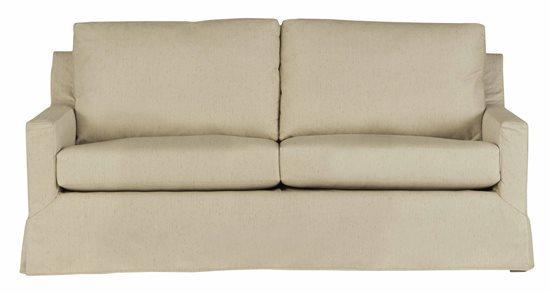 Slip Covered Sofa - Shown in 121-05 Wheat Finish
