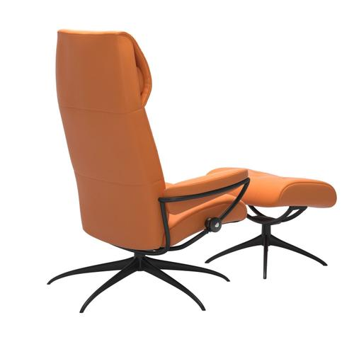 Stressless By Ekornes - Stressless® Metro Star High back Chair with Ottoman