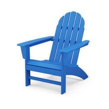 Vineyard Adirondack Chair in Pacific Blue
