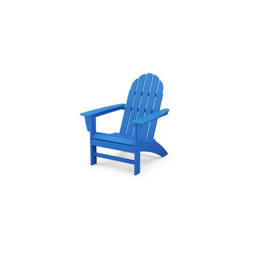 Polywood Furnishings - Vineyard Adirondack Chair in Pacific Blue