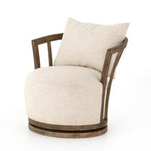 Thames Cream Cover Hallie Swivel Chair