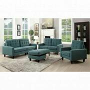 ACME Nate Loveseat - 50246 - Teal Fabric Product Image