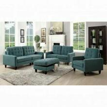 ACME Nate Loveseat - 50246 - Teal Fabric