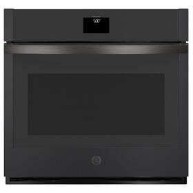 "GE® 30"" Smart Built-In Self-Clean Convection Single Wall Oven with Never Scrub Racks"