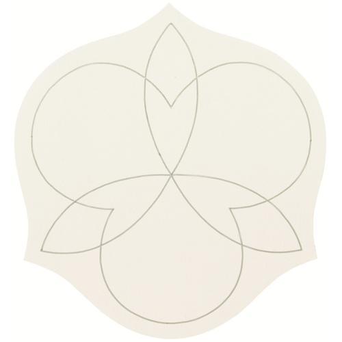Calista Side Table in Silken Pearl (388)