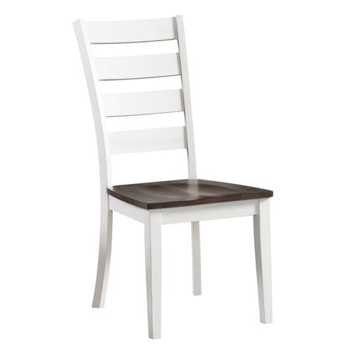 Kona Ladder Chair  Gray and White