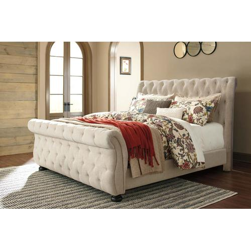 Willenburg - Dark Brown 3 Piece Bed Set (Cal King)