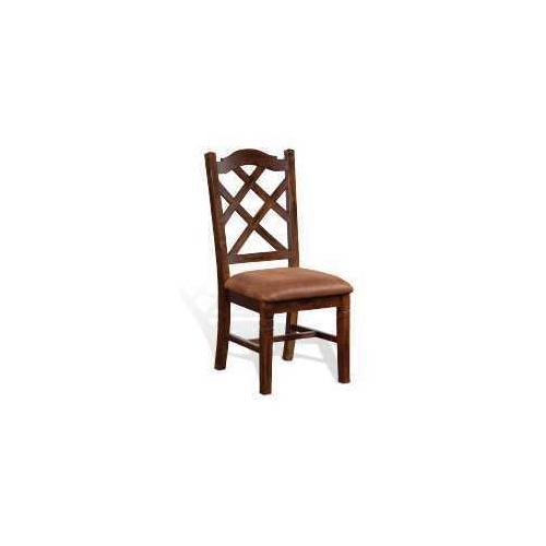 Sunny Designs - Santa Fe Double Crossback Chair w/ Cushion Seat