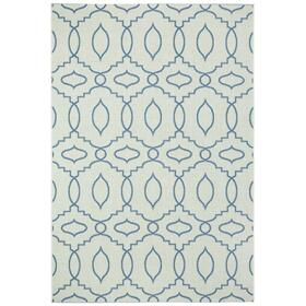 "Finesse-Moor Capri Blue - Rectangle - 3'11"" x 5'6"""