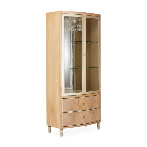 Villa Cherie Display Cabinet Caramel
