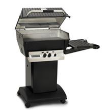 Deluxe Series - H3-PK1N Deluxe Grill Package with Cart and Base (Natural Gas)