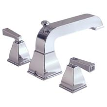 See Details - Town Square Deck-Mount Bathtub Faucet with FloWise Personal Shower - Polished Chrome