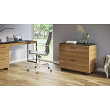 View Product - Sequel 20 6116 Lateral File Cabinet in Walnut Black