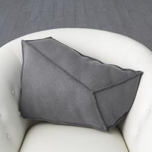 See Details - Rock Pillow-Grey-Left