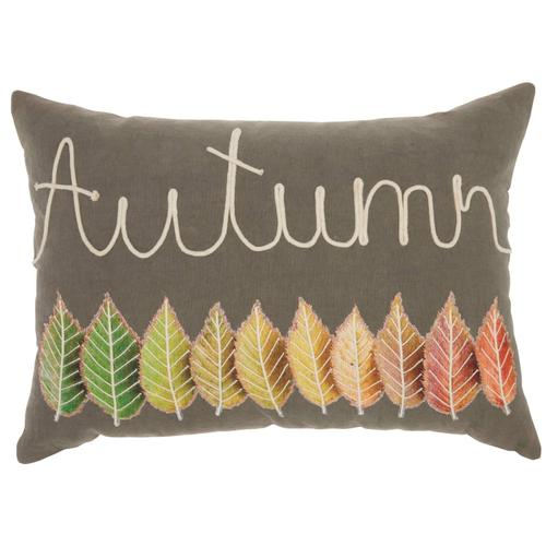 """Home for the Holiday St109 Multicolor 12"""" X 20"""" Throw Pillow"""