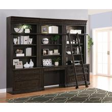 See Details - WASHINGTON HEIGHTS 7pc Library Wall