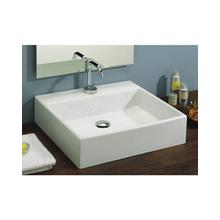 View Product - Box 50 Vessel Lavatory in White