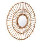 Ronda Round Mirror Brown Product Image