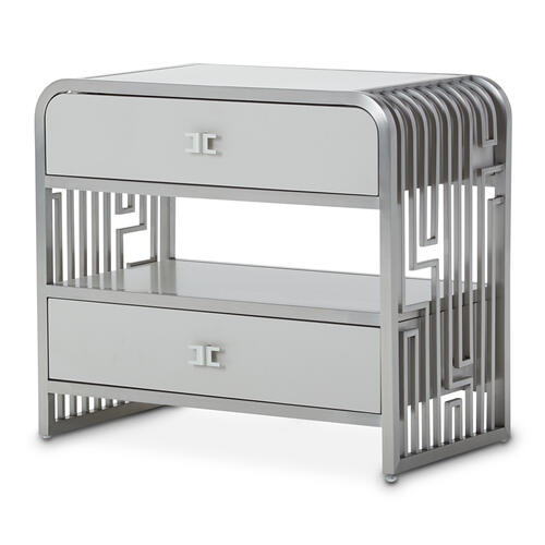 Product Image - Metal Accent Cabinet-night Stand-end Table